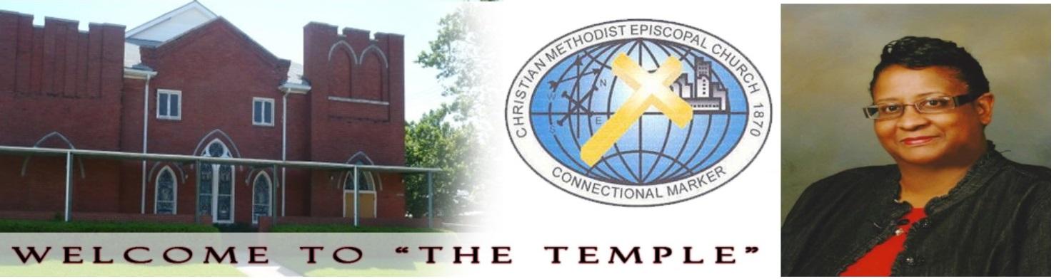 Williams Memorial CME Temple Church, Shreveport | Rev  Dr